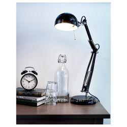 Отличного качества настольная лампа икеа форсо