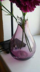 Светло-розовая ваза оригинальная икеа