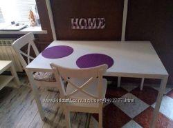Замечательный стол икеа Мельторп 125х75 см