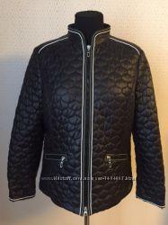 Классная весенняя практически новая куртка большого размера нем 44 от ger