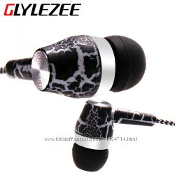 Наушники Glylezee Трещины с микрофоном