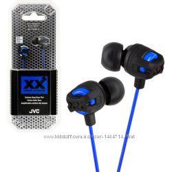 Наушники вакуумные JVС Xtreme Xplosives с микрофоном хороший звук и басы