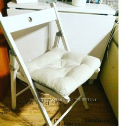 Складной деревянный стул, новый, икеа