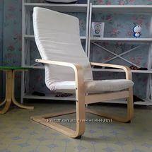 Кресло икеа Пелло новое бежевое