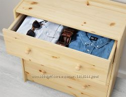 Компактный деревянный комод новый