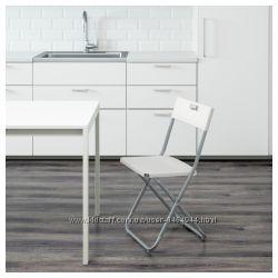 Складной практичный складной стул икеа Гунде