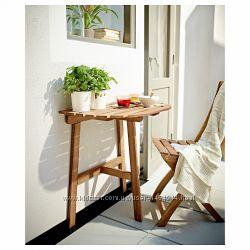 Отличный пристенный стол икеа