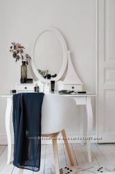 прекрасный и утонченный туалетный столик икеа хемнэс 6800 грн