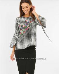 Блуза с вышивкой, вышитая рубашка Pimkie из Италии