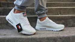 Кроссовки мужские Nike Air Max 1 Ultra Moire White белые