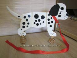 Деревянная каталка собака Далматинец от John Crane