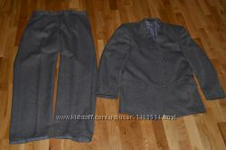 Мужской зимний классический костюм SENFONY Германия 80 шерсть