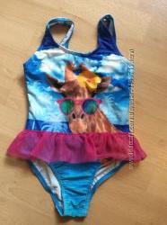 Новые  модные купальники С&А, на рост 110-116