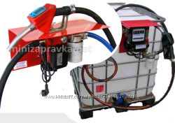 Мини АЗС 220В 56лмин для перекачки дизельного топлива