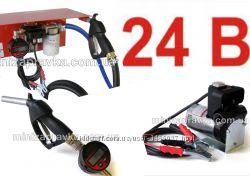 Мини Заправка 24В 50лмин для дизТоплива с электр. счетчиком