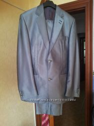 Мужской классический костюм Artistic шерсть - 48 размер, галстук в подарок
