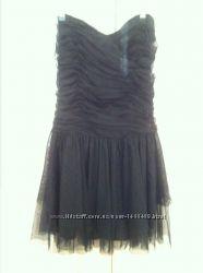 Платье стильное черного цвета
