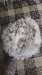 Шапка из меха ламы