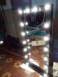 Зеркало с подсветкой, зеркало гримерное, напольное
