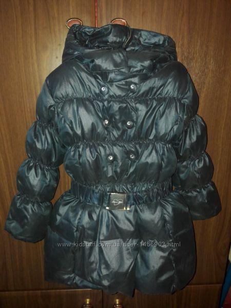 Пуховик, пальто, куртка. Зима. Chicco 5 лет. 110 р.
