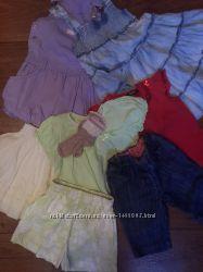 Пакет одежды для девочки 1-2 года.