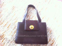 Женская кожаная сумка BVLGARI