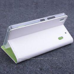 Чехол книжка для Lenovo К3 Note A7000, Lenovo s8 a7600 с местом под карточк
