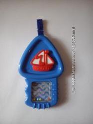Подвесная развивающая погремушка-грызунок Fisher-Price, Mattel отличная