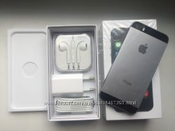 IPhone 5S 32GB Space Grey. Новый. NeverLock. В наличии
