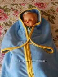 Велюрово-махрові конверти для немовлят