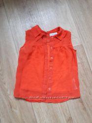 Легкая блуза с маечкой Next на 3 года