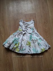 Нарядное платье M&Co baby на 3-6 мес
