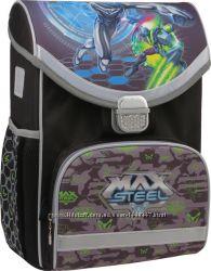 Ранец школьный каркасный kite 2015 max steel 529