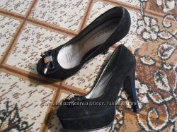 туфли на высоком каблуке р 39,  25, 5 см