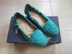 Geox оригинал балетки туфли мокасины лоферы натуральная кожа 37 размер