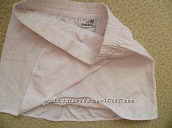 стильная фирменная женская energy юбка 48-50р мини белая на запах хб