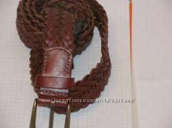 Мужской кожаный ремень от MANGO Victor7, оригинал