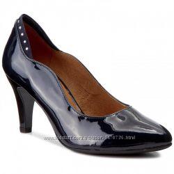 ddb664112 Туфли из натуральной кожи немецкого бренда Caprice темно-синие, р ...