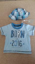 Комплект для мальчика - футболка и панамка
