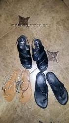 Кожаные босоножки ara, Германия, сандалии, шкіряні босоніжки