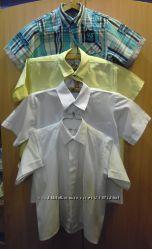 Рубашки на мальчика ДЛЯ ШКОЛЫ с коротким рукавом