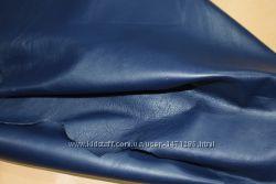 Кожа Blu Saturato наппа, 0. 7-0. 8 мм