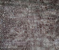 Натуральная кожа Аллигатор принт, 1 мм