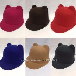 Шляпы из фетра детские