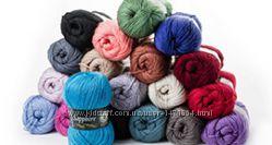 Пряжа Vita Sapphire - теплая зимняя пряжа для вязания, нитки полушерсть