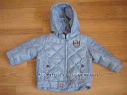Benetton курточка демисезонная пуховик размер 74