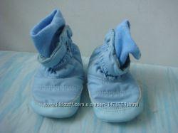 Chicco пинетки ботиночки 1718 размер 11 см стелька