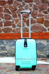 Супер цена Большой бордовый чемодан пластиковый разные цвета Доставка