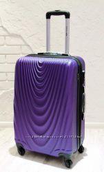 Качественный чемодан для ручной клади Валіза пластикова для ручної поклажки