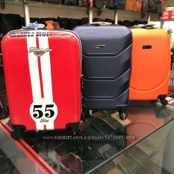 4cfc24770cf0 Акция чемоданы пластиковые дорожные на 4-х колесах Большие средние малые